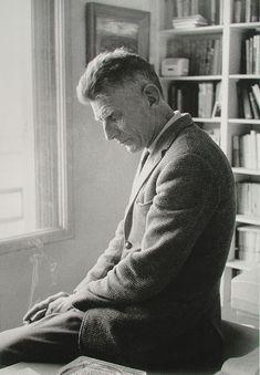 Gisèle Freund: Retratos de escritores. Samuel Beckett, Paris, 1964