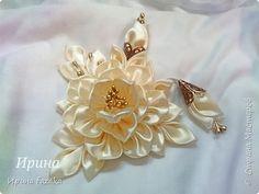 Украшение Цумами Канзаши канзаши украшалочки Ленты фото 1
