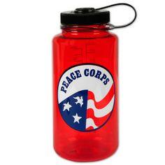Peace Corps 32oz. Red Nalgene Bottle - $14.99