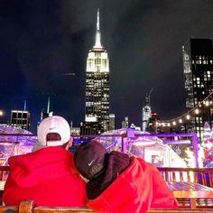 Sat night DJ ,dancing and heated igloos. Rooftop Bars Nyc, Empire State Building, New York City, Times Square, Dancing, Dj, Night, Dance, Nyc
