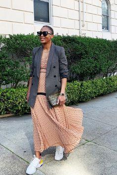 Formal, Midi Skirt, Blazer, Instagram, Spring, Inspiration, Fashion, Outfit Work, Dinner Suit