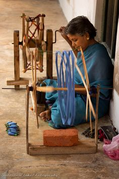 Spinning the Wheel in India by viwehei, via Flickr