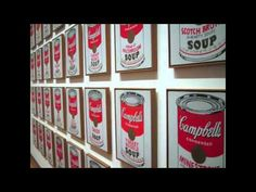 In this video which investigates the significance of Andy Warhol's iconic Campbell's soup can paintings, academics from Khan Academy explore the provocative intersection of commercialism and pop art. Which forces us to ask -- what is art? Andy Warhol Pop Art, Art Pop, Arte Elemental, Art Doodle, Art Nouveau, Ecole Art, Middle School Art, High School, Art And Technology