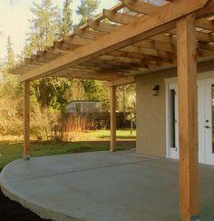 Pergola And Concrete Patio Pictures | ... Patio: Pergolas | Defined  Concrete |