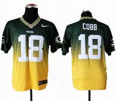 Nike Green Bay Packers #18 Randall Cobb Elite Drift II Fashion Jerseys $ 22.5