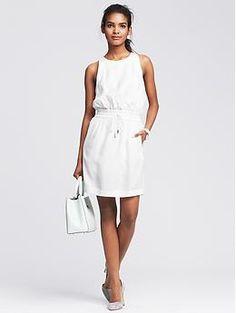 Drawstring Soft Dress
