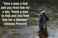 Man goeth to his long home by bible like success for Teach a man to fish bible verse