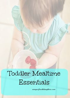 Toddler mealtime essentials. Products that make feeding your toddler fun and easy.