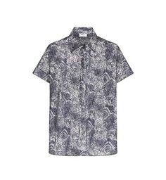 Mela Purdie Micro Poplin Broderie Print Cruise Shirt
