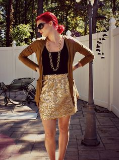 Outfit of the Day - Daytime Glitter