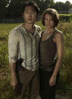 from Trace walking dead maggie and glenn dating in real life