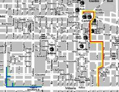 Turismo accessibile a Torino -> Mappa dei percorsi di Torino Paratour