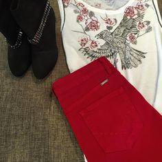 T-shirt bo.bô , calça flare Bob Store, bota Capodarte , com 60% de desconto , na Sépia ✔  #liquidação #bo.bô #bobstore #bob #capodarte #Sepia
