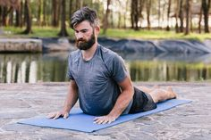 This full-body stretching routine leaves us feeling refreshed after a tough workout, but it's also great on its own. Post Workout Stretches, Daily Stretches, Body Stretches, Workouts, Exercise, Full Body Stretching Routine, Stretch Routine, Workout Plan For Men, Workout Plan For Beginners