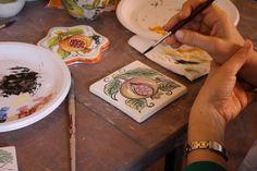 Corso di decorazione su ceramica - Course in ceramic decoration
