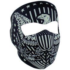 168d9d64d2b67 Vintage Eagle Mask Neoprene Face Mask