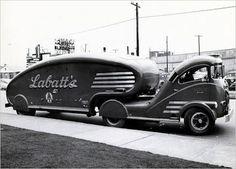de Sakhnoffsky, Labatt's White Motor Streamliner