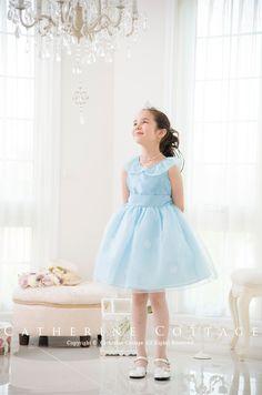 子供ドレス 妖精のようなオーガンジーとお花のカラードレス 子供フォーマルドレス 子ども キッズドレス 発表会 結婚式 ワンピース   キャサリンコテージ