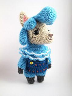 Ravelry: Animal Crossing: Cyrus the Alpaca pattern by Sarah Sloyer