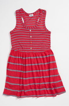 Splendid Chambray Stripe Dress (Toddler) | Nordstrom