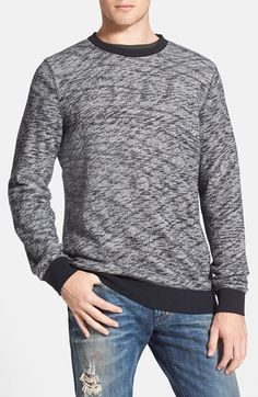 Obey 'Warner' French Terry Crewneck Sweatshirt available at #Nordstrom