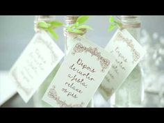 Lembrancinha para o casamento | Camicado - YouTube Witch Craft, Place Cards, Like4like, Place Card Holders, Diy, Youtube, Bath Salts, Wedding Bouquets, Recycled Crafts
