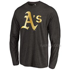 http://www.yjersey.com/oakland-athletics-gold-collection-long-sleeve-tri-blend-tshirt-black.html Only$30.00 OAKLAND ATHLETICS GOLD COLLECTION LONG SLEEVE TRI BLEND T-SHIRT BLACK Free Shipping!