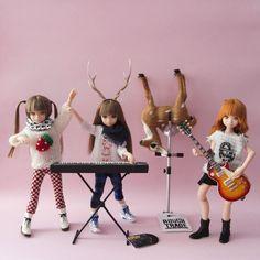 bluesime @bluesime 5月8日 Killer Bambi Ruruko's Plastic Band #momokoph