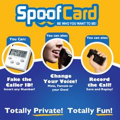 The Spoof Source is the best website for information about spoofing calls and pranking your friends.
