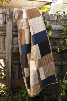 Hibernate: A Man-Quilt by Lella Boutique