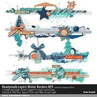 Readymade Layers: Winter Borders No. 03