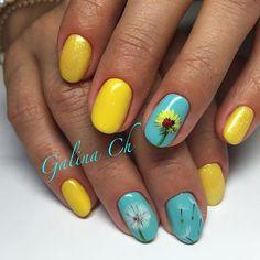 Dandelion Nails, gallechka_ch