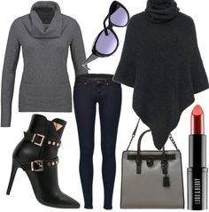 Kiss Grey #fashion #style #look #dress #outfit #luxury #trend #mode #nobeliostyle