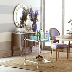 Wisteria - Furniture - Shop by Category - Accent Tables & Pedestals -  Mixer's Bar Cart - $499.00