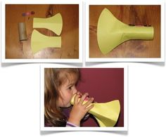 Preschool Crafts for Kids*: Easy Trumpet Music Craft