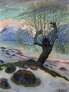 Morning in March - Nikolai Astrup