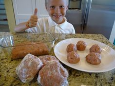 The Nourishing Home: Turkey Times Three (T3) ground turkey burgers, meatballs, and meatloaf recipes