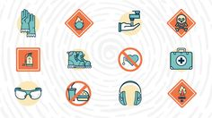 In order to maintain a safe workplace and avoid accidents, lab safety symbols and signs need to be posted throughout the workplace