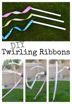 DIY Twirling Ribbons   Home Remedies