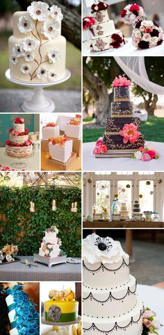 Dulce revival de las tartas de boda