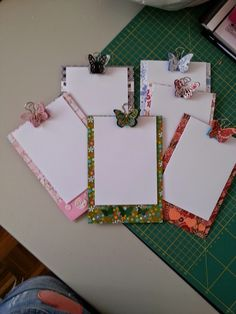 Costuraki: Mini porta blocos de notas  Hoje mostro-vos uns po...