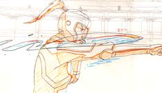 Pencil tests and stunts from the last episode of Legend of Korra- Look Animation Storyboard, Animation Reference, Art Reference Poses, Mega Anime, Anime Oc, Pencil Test, Animation Tutorial, Poses References, Cool Animations