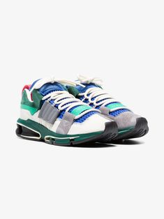 save off acf3e fa6fb Adidas multi-coloured Twinstrike ADV suede sneakers