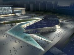 Jinan High-Tech Science and Technology Culture Center and Square designed by RTA-Office
