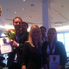 Runner up at the entrepreneurship contest!