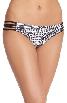 LSpace 'Low Down' Reversible Hipster Bikini Bottoms