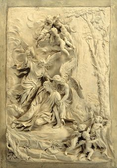 Search the Collection Plaster Sculpture, Angel Sculpture, Plaster Art, Wood Sculpture, Agony In The Garden, Muse Art, Greek Art, Catholic Art, Classical Art