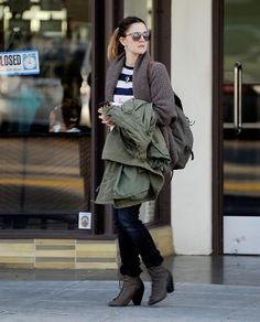 Drew Barrymore outside an Optometry Office in West Hollywood January 31, 2011
