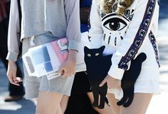 Fashion week cat!