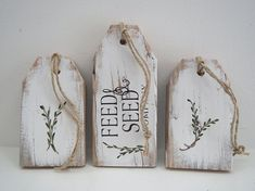 Wood Tags/Pallet Tags/Painted Wood Signs/Rustic Wood Signs Wood Tags/Pallet Tags/Painted Wood Signs/Rustic Wood Signs The post Wood Tags/Pallet Tags/Painted Wood Signs/Rustic Wood Signs appeared first on Wood Diy. Painted Wood Signs, Rustic Wood Signs, Wooden Signs, Rustic Decor, Best Woodworking Tools, Woodworking Classes, Youtube Woodworking, Woodworking Workbench, Custom Woodworking